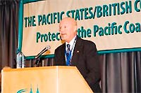Richard Wright, retired Pacific NW Regional Vice President of the Marine Spill Response Cooperative