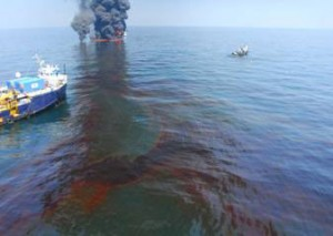 The Deepwater Horizon/BP oil spill in the Gulf of Mexico, June 9. 2010 (browardnetonline.com)