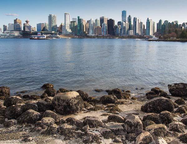 Photo: Vancouver, B.C. shoreline