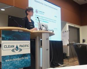 Dr. Kate Starbird presenting