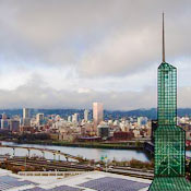 photo: Portland, OR convention center