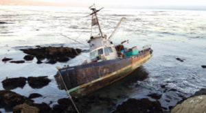 Photo: derelict vessel 1