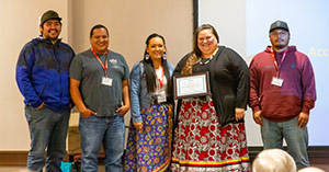 Yakama Tribe presented with a Legacy Award in 2019.